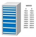 标准工具柜FL1250A FL1250B FD1250A FD1250B
